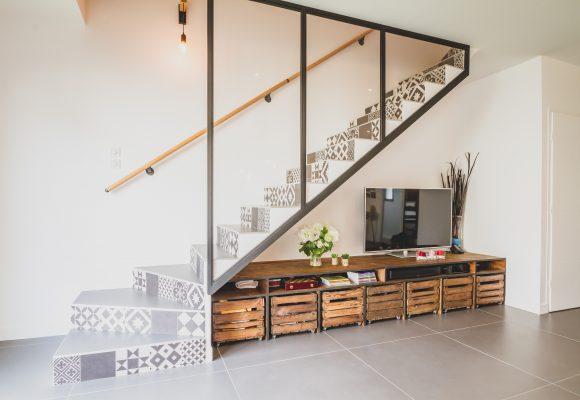 Aménagement escalier intérieur