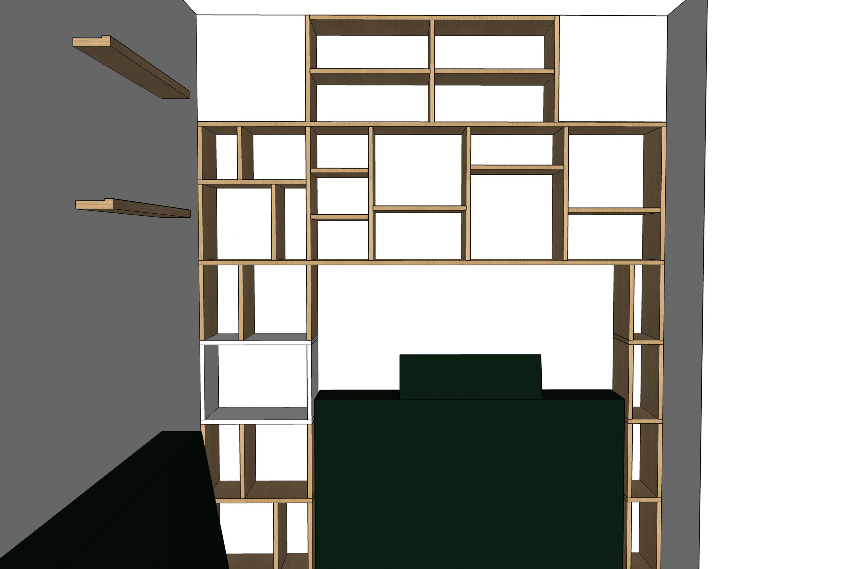 Conception 3D - bibliothèque