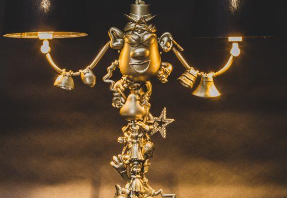 lampe jouet-allumée