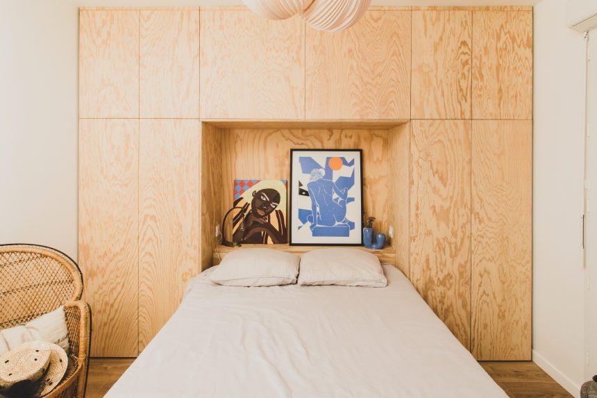 Placard dressing et tête de lit