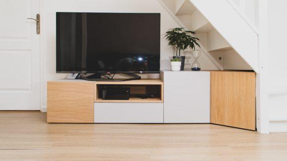 Meuble TV et extension de cuisine