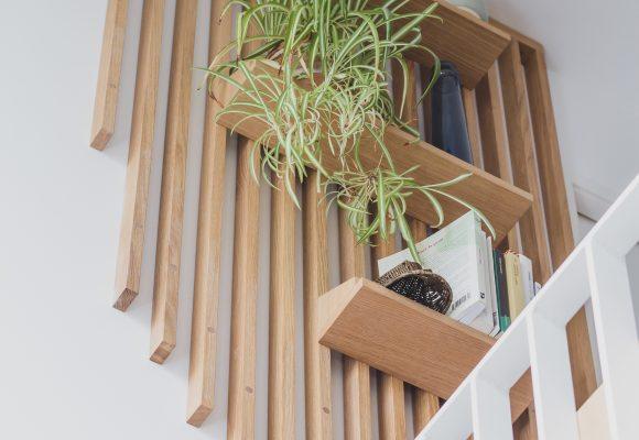 Bureau & claustra sur mezzanine