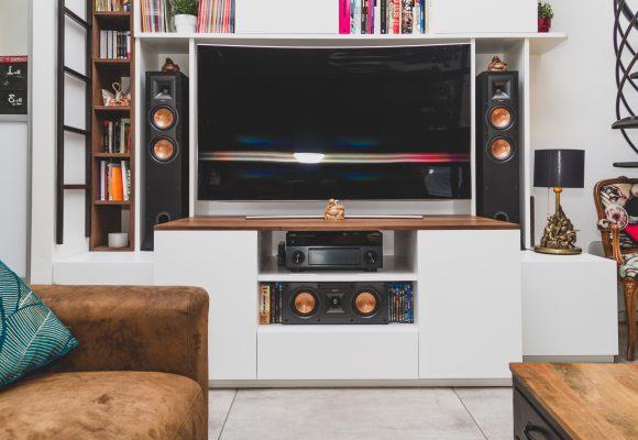 Ensemble bibliothèque meuble TV